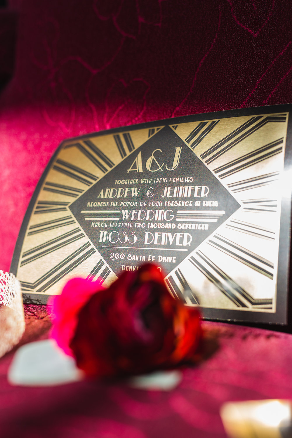 Gatsby-Inspired Styled Wedding — The Overwhelmed Bride Wedding Blog
