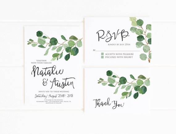 Fall Wedding Invitations - The Overwhelmed Bride Blog