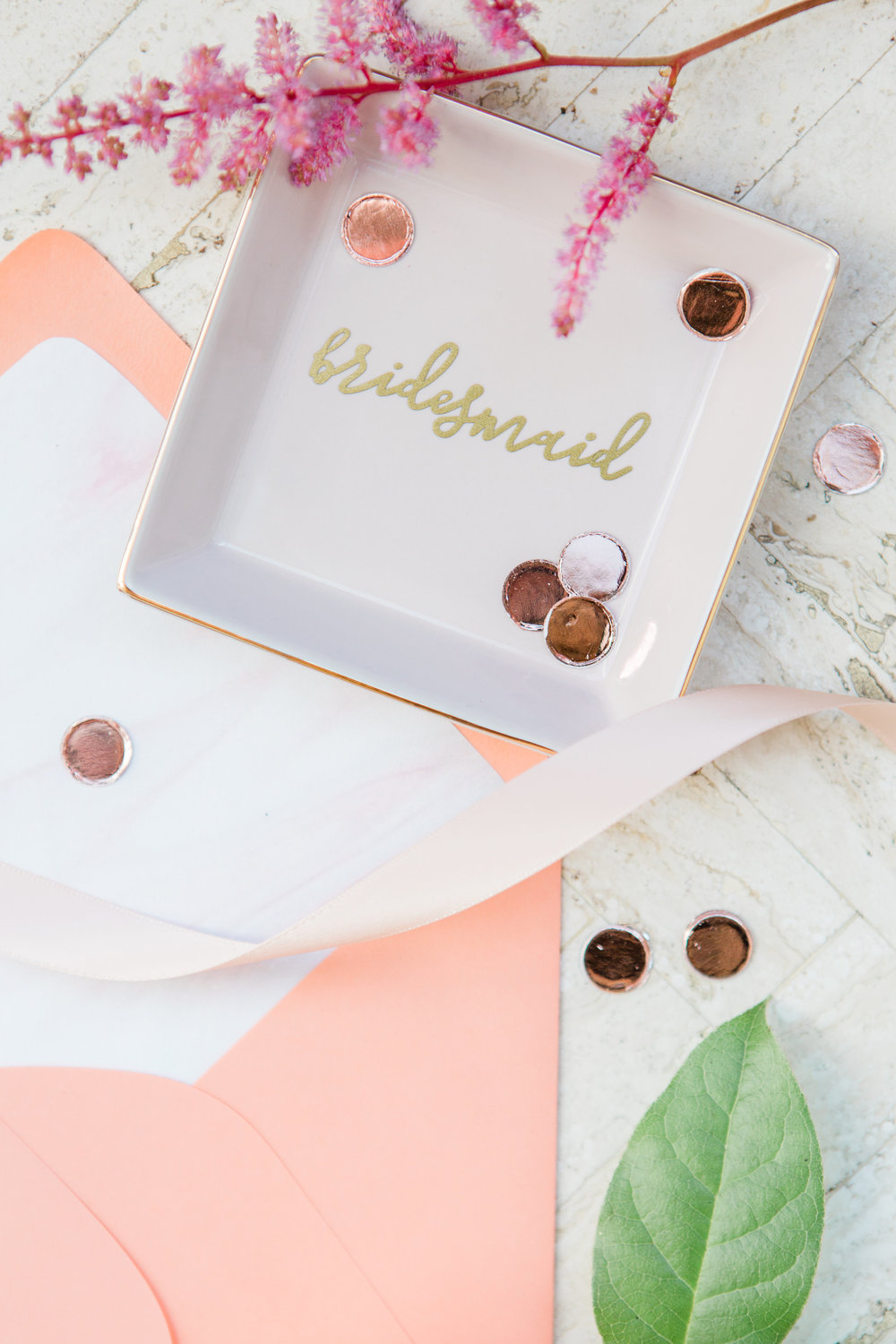 Bridesmaid Bridal Shower - Unique Gift Ideas for Bridesmaids - The Overwhelmed Bride Wedding Blog