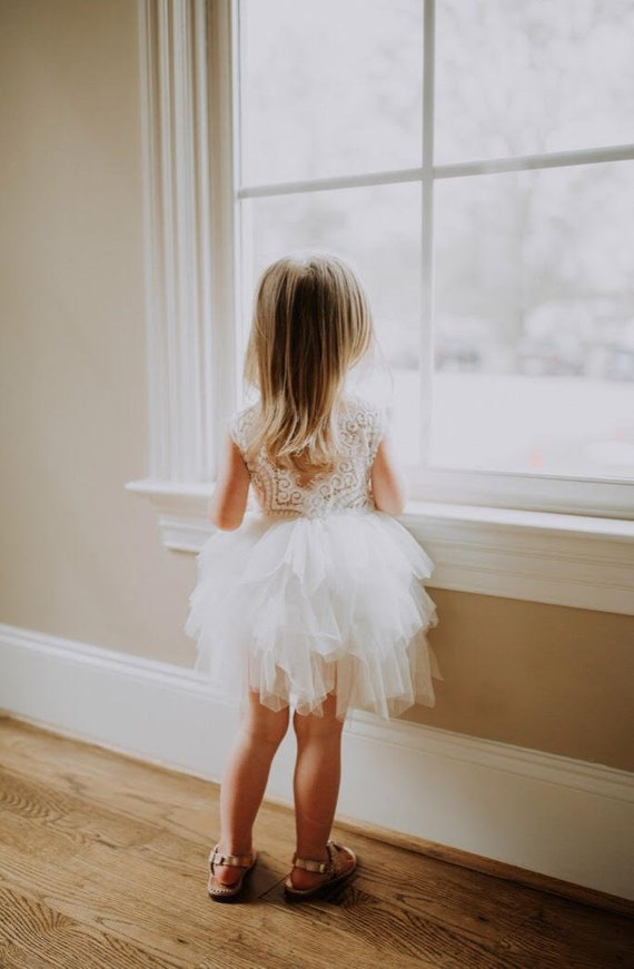 Gorgeous Flower Girl Dresses - The Overwhelmed Bride Wedding Blog