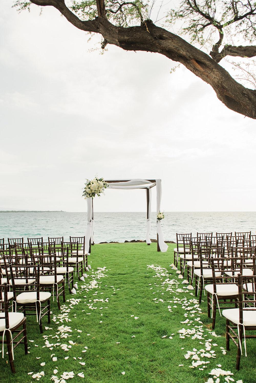 An Intimate Hapuna Prince Beach Hotel Hawaii Wedding - The Overwhelmed Bride Wedding Blog