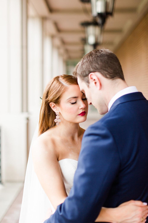 Indianapolis Wedding - Purple Wedding Details - The Overwhelmed Bride Wedding Blog