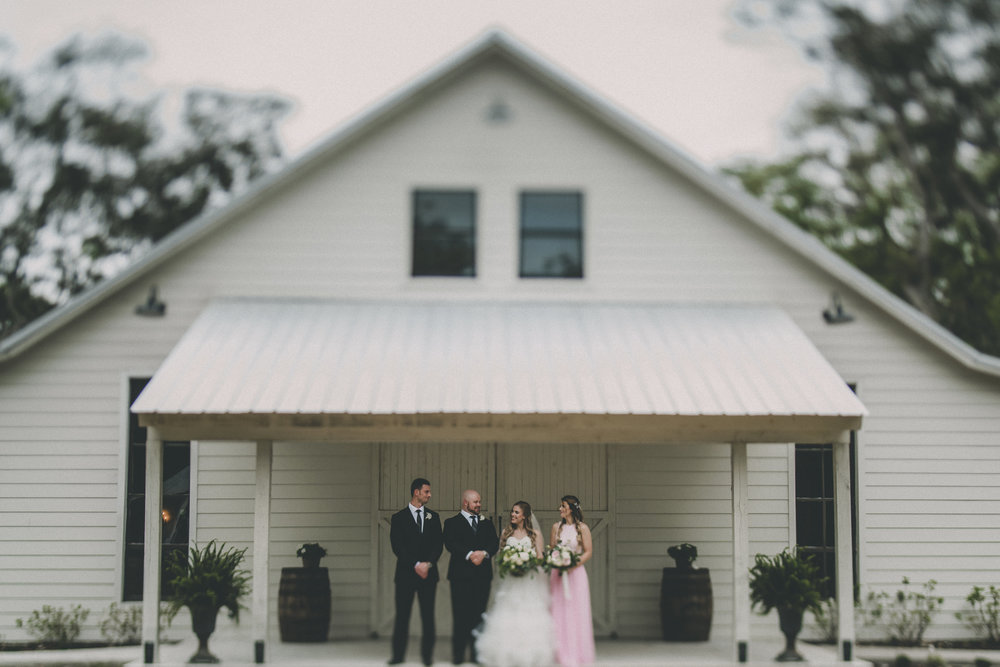 Rustic Vintage Chandler Oaks Barn Wedding - St. Augustine Florida Wedding Venue - The Overwhelmed Bride Wedding Blog