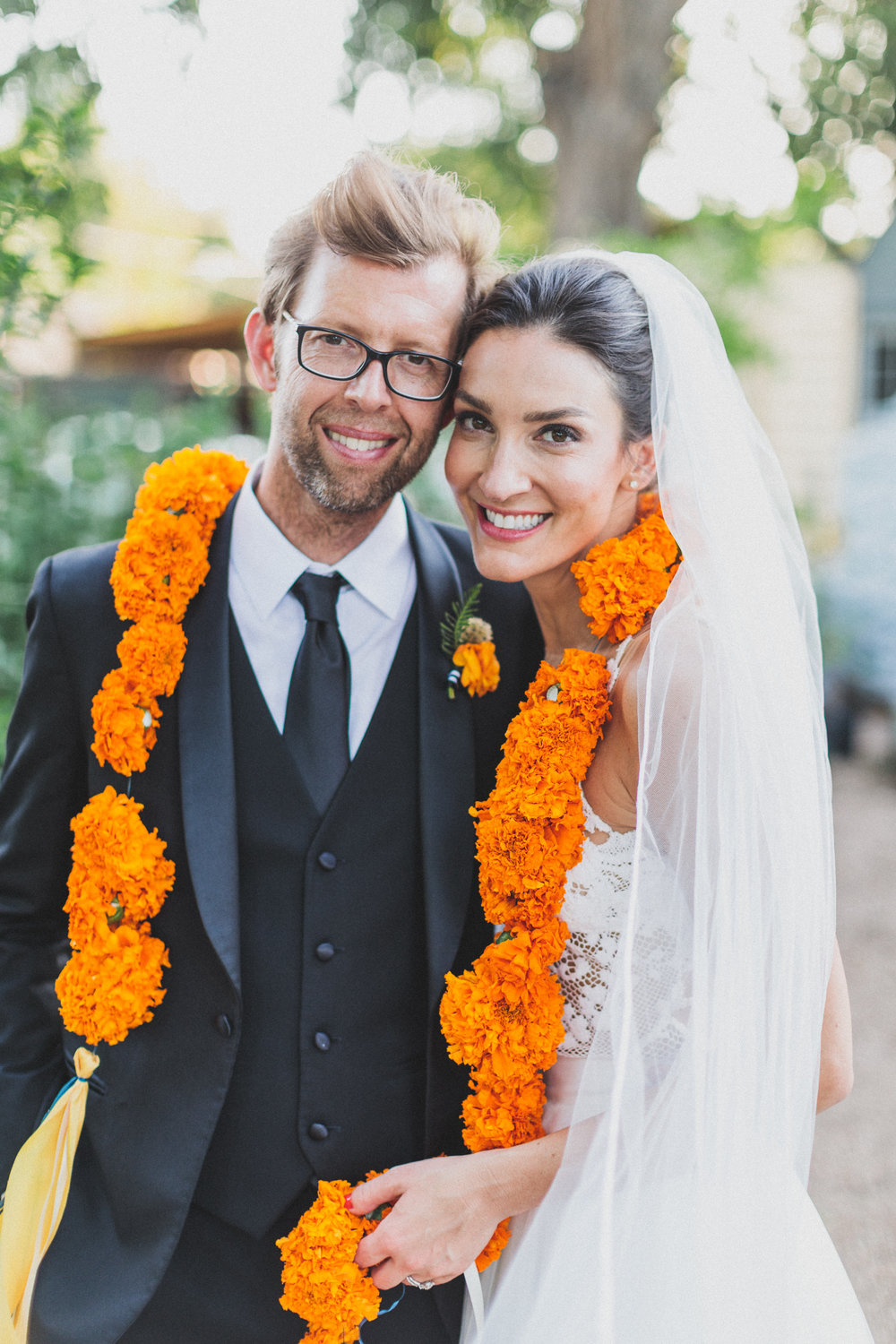 A Vibrant, Tropical Austin Wedding - The Overwhelmed Bride Wedding Blog  Ideas Inspiration