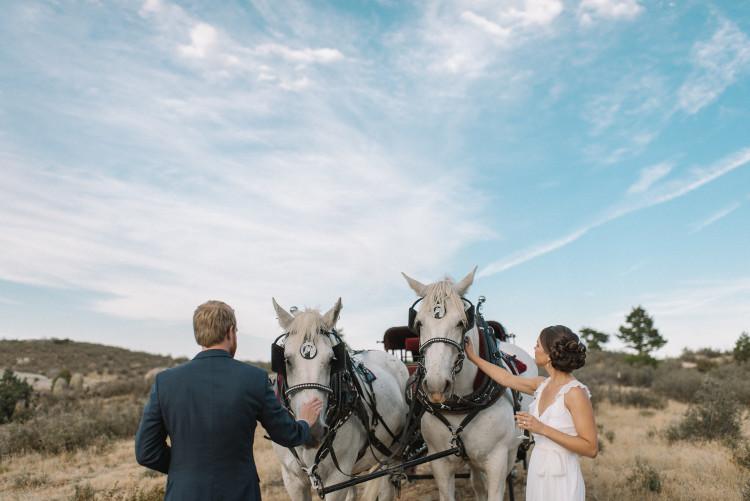 An Eagles Nest Ranch Outdoor Colorado Wedding - The Overwhelmed Bride Wedding Blog