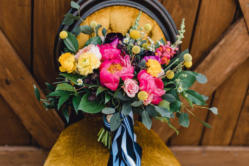 A Colorful Pittsburg Bramblewood Barn Wedding - The Overwhelmed Bride Wedding Blog