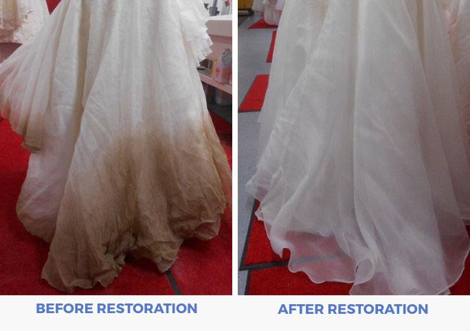 Affordable Wedding Dress Preservation + Cleaning Restoration - The Overwhelmed Bride Wedding Blog