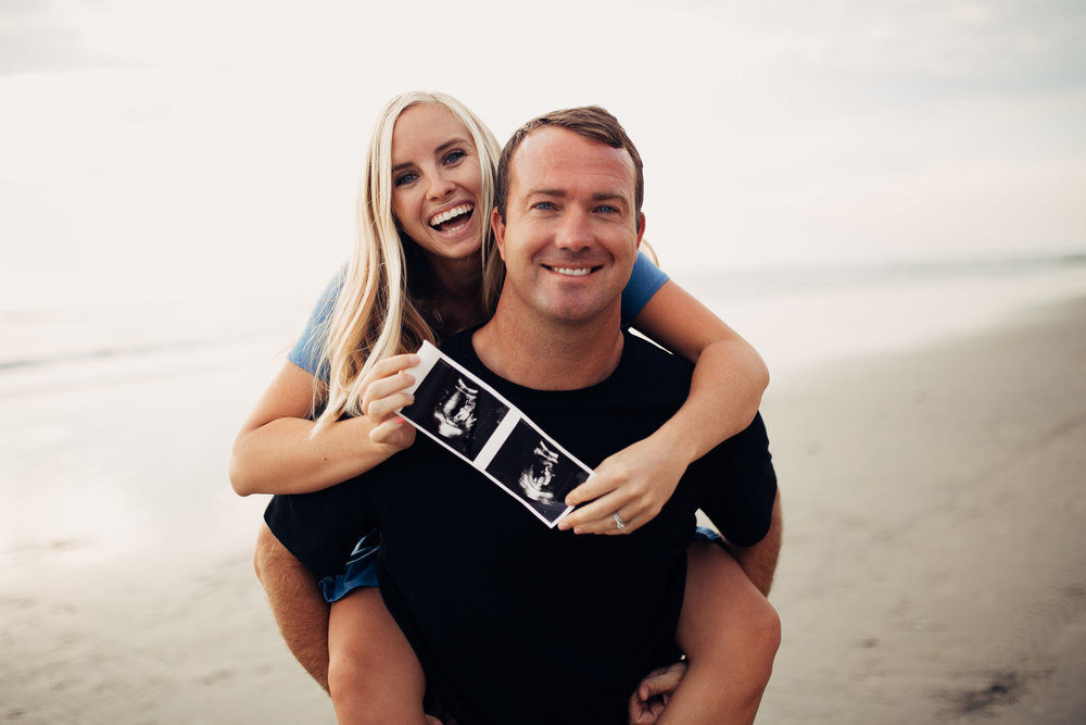 KENZIE + MARC - BABY ANNOUNCEMENT