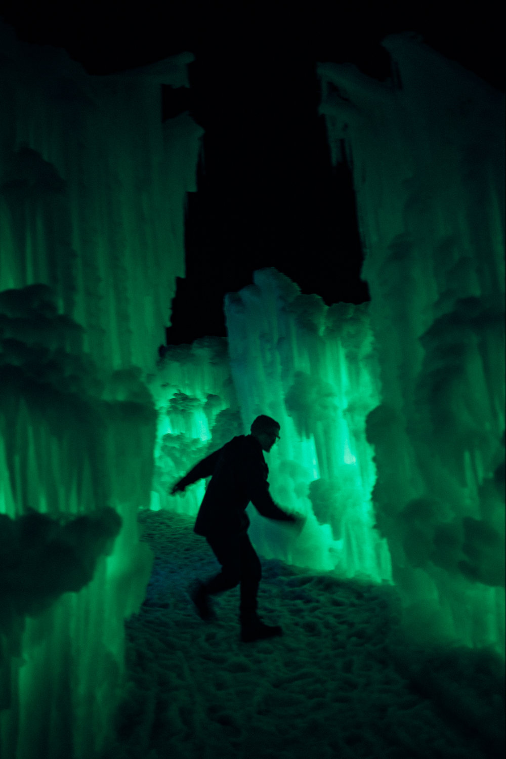 Ice Castles in Midway, UT -