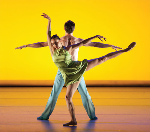 Aspen Santa Fe Ballet's Over Glow.   PHOTO: SHAREN BRADFORD.