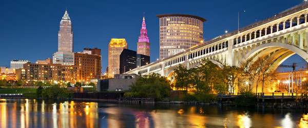 Cleveland Skyline - Photo credit Rudy Balasko
