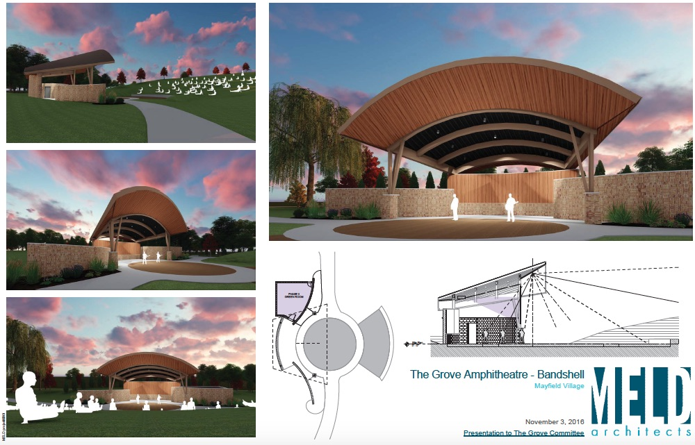 NEW BANDSHELL COMING THIS SUMMER!