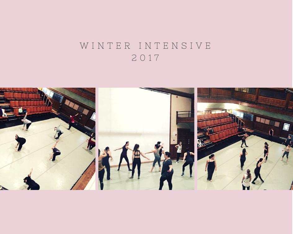 Modern Class - Winter Intensive 2017
