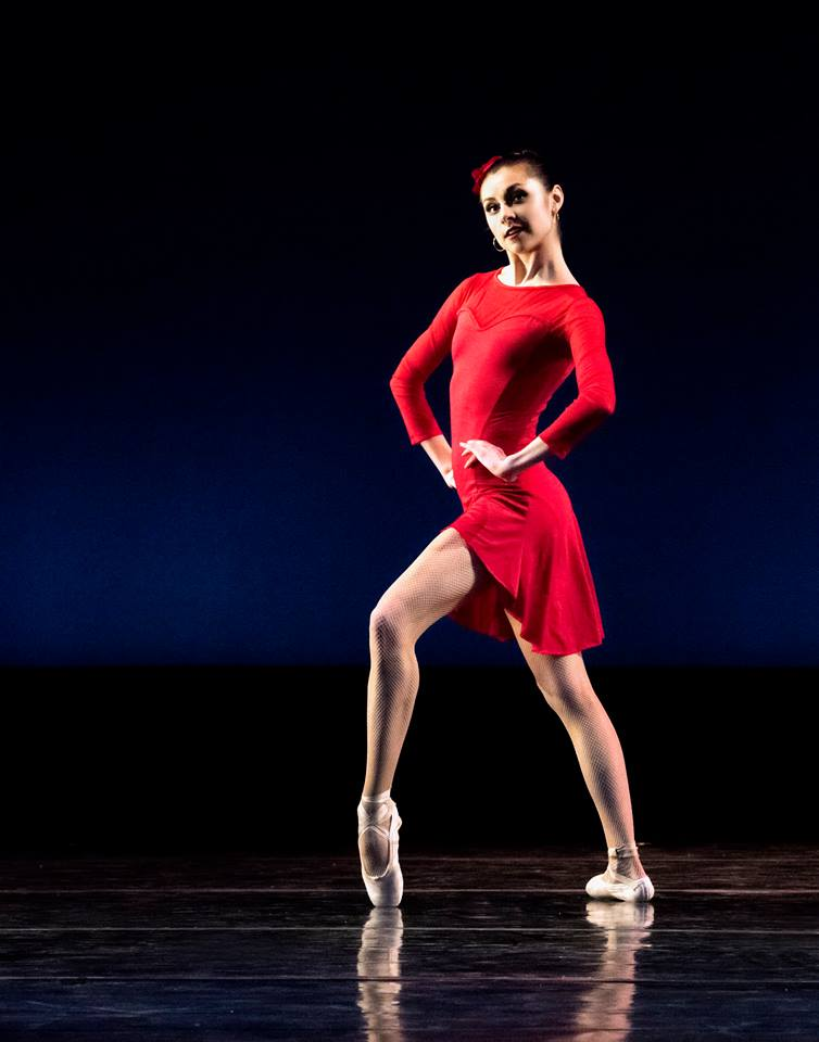 Dancer Kate Webb