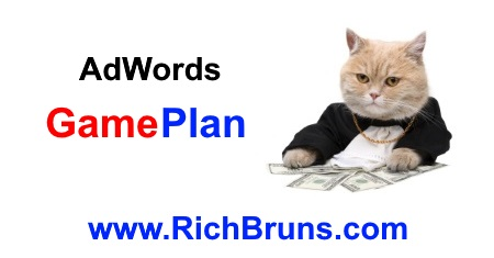 GamePlan for AdWords™* Advertising Program