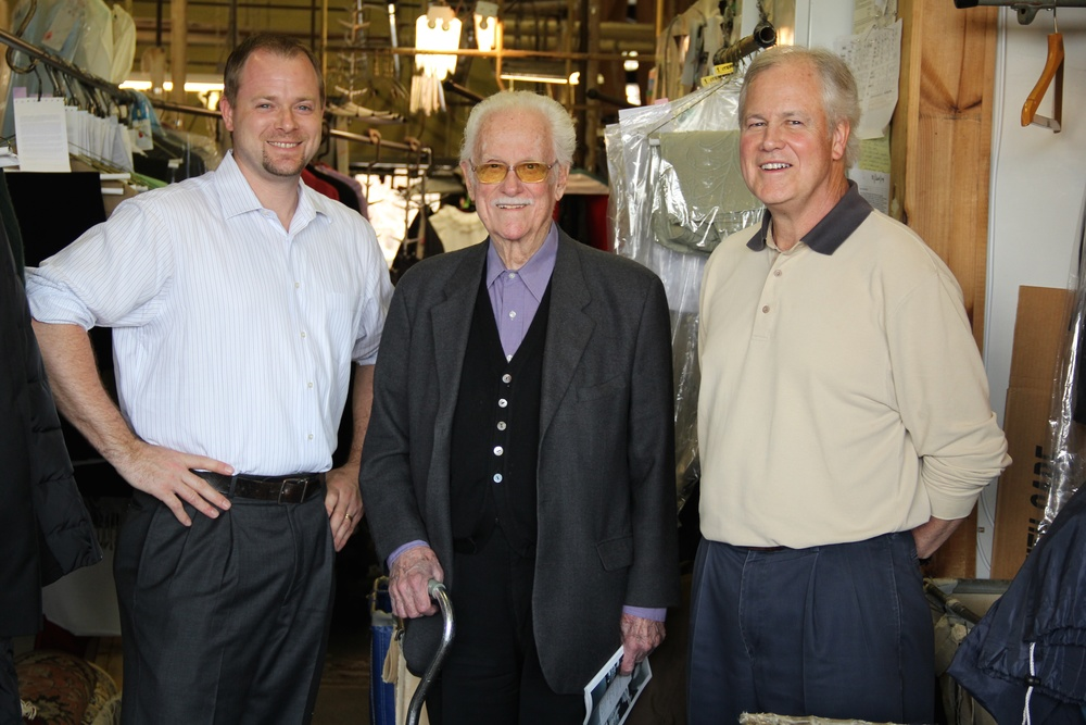 Derek, Russell and Brian Fieldsend, family owners of Blue Ribbon Dry Cleaners.jpg