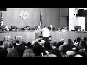 Tef Poe en la Diputación en Ferguson