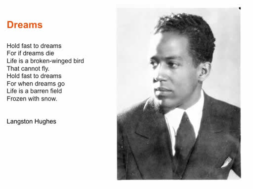 understanding history of harlem and langston hughes idea of the dream deferred Story: last year i bought a book of poems all written by african americans throughout history i stumbled across a dream deferred by langston hughes and immediately connected with his poem harlem.