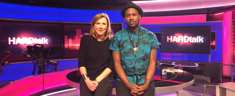 Tef Poe hits BBC HARDtalk