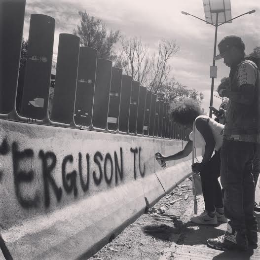 From Ferguson to Mexico Rika and T-Dubb-o travel to build solidarity
