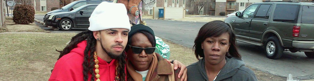 Dee-1 with Mike Brown's Grandmother and Aunt