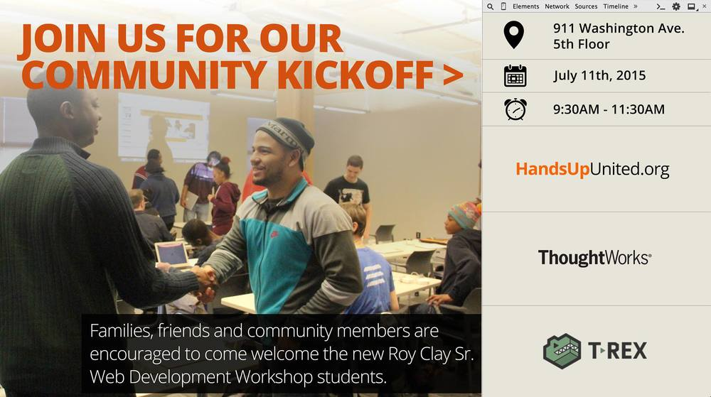 Roy Clay Sr. Community KickOff