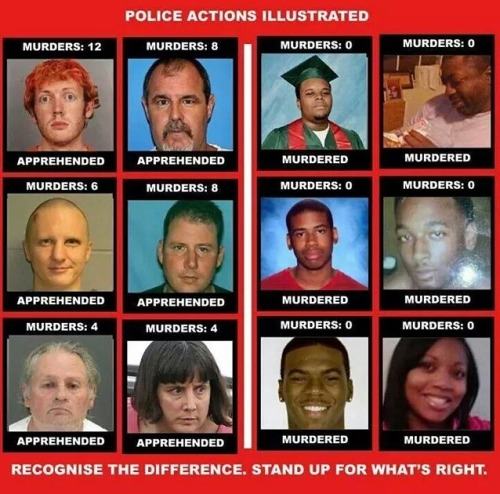 To sum this up, if you are white you can kill, rob, rape, etc. with no consequences.  If you're black, you will be killed.