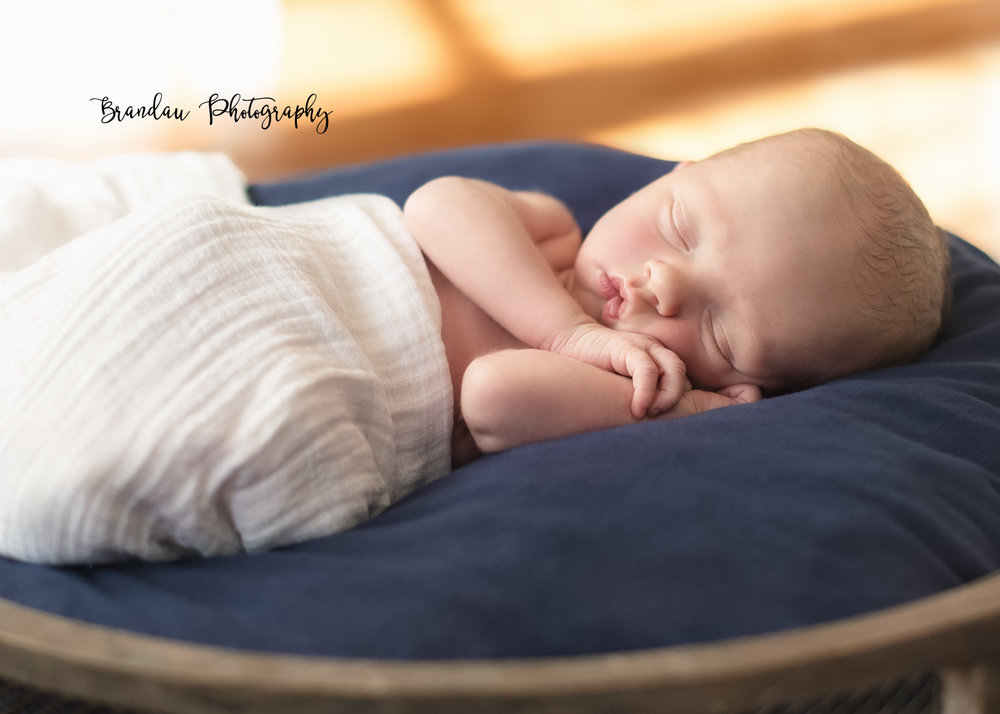 Brandau Photography- Newborn Boy - Central Iowa - Des Moines Iowa
