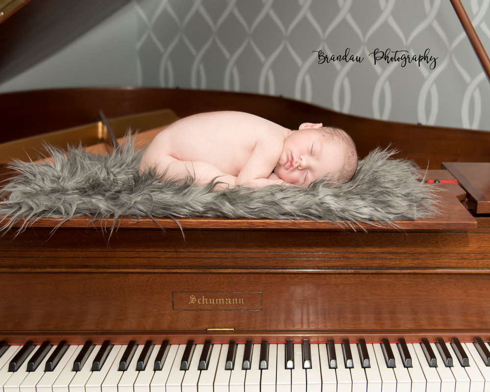 Brandau Photography- Newborn Boy - Central Iowa