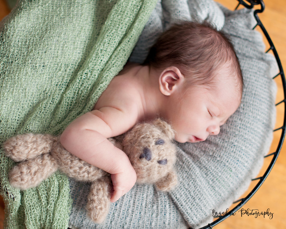 Brandau Photography- Newborn Boy - Central Iowa - Ames Iowa