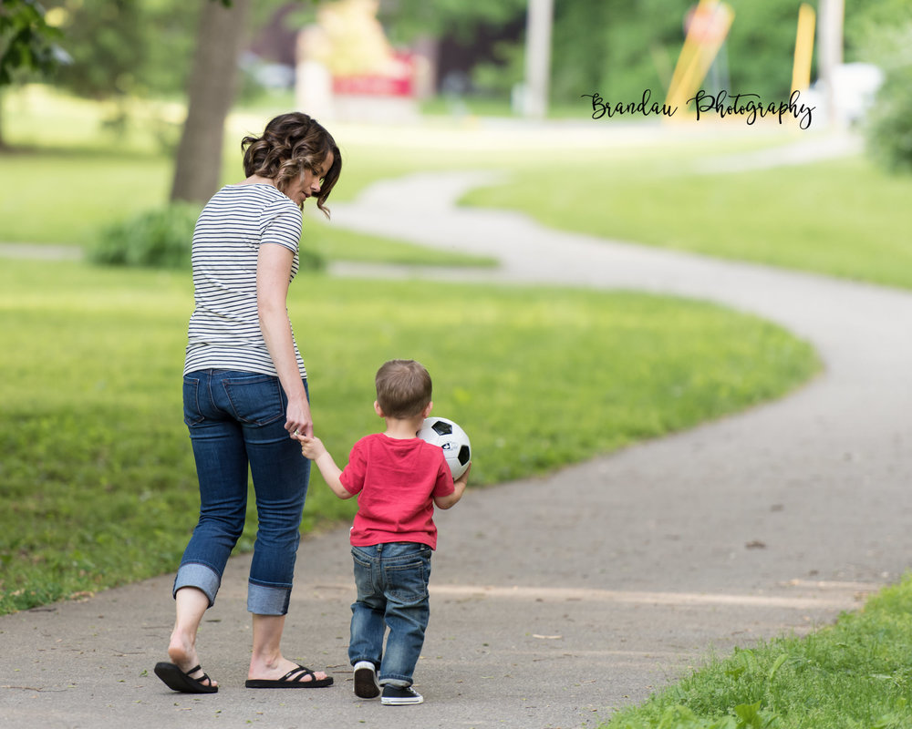 Brandau Photography - Mom and Son - Central Iowa - Ames Iowa