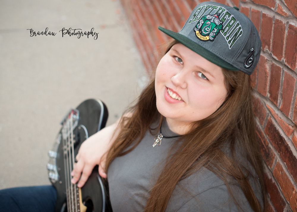 Central Iowa Senior - Brandau Photography - Nevada Iowa