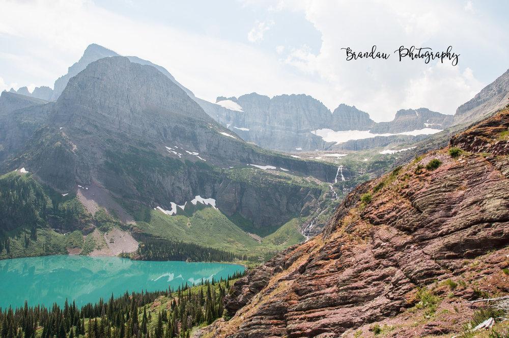 Brandau Photography - Glacier National Park - Grennell Falls