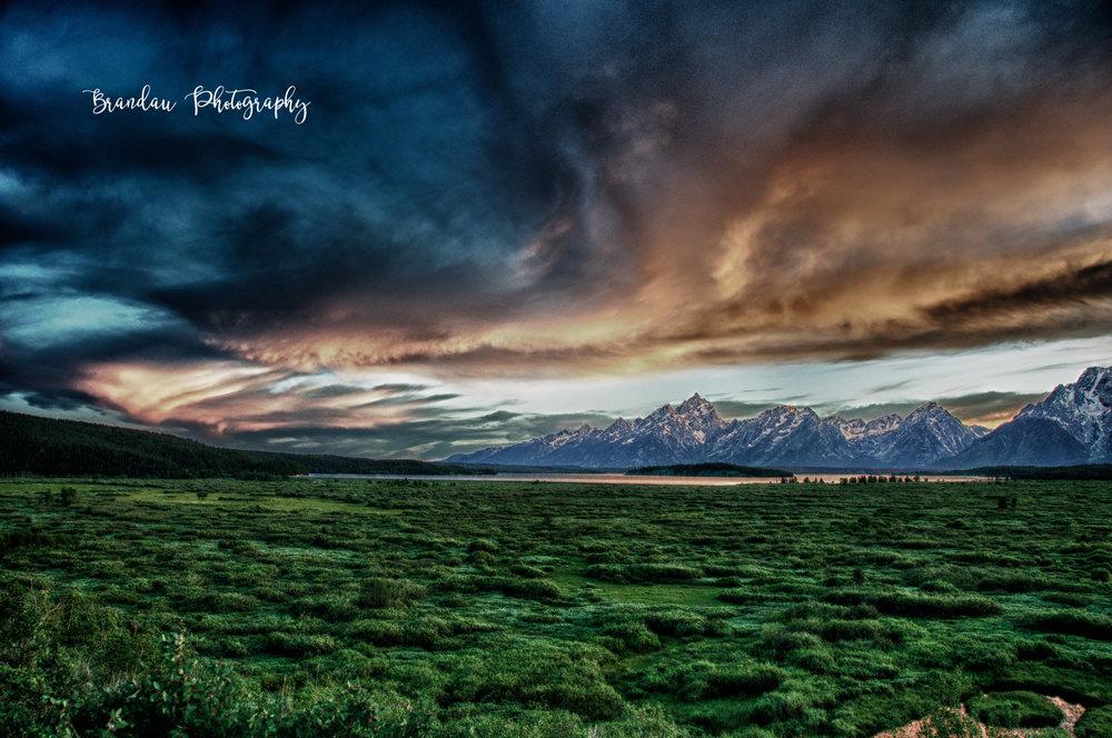 Brandau Photography - Grand Tetons National Park - Sunset