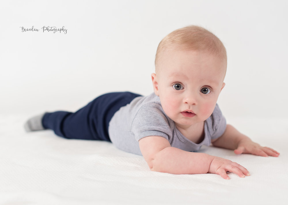 6 month baby boy Des Moines Raygun _Brandau Photography.jpg