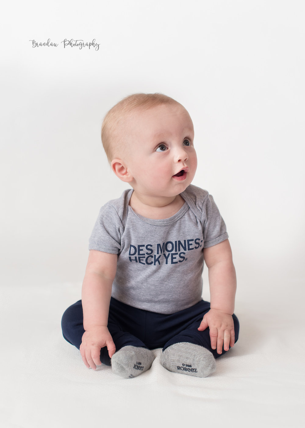 6 month baby boy looking Des Moines Raygun _Brandau Photography.jpg