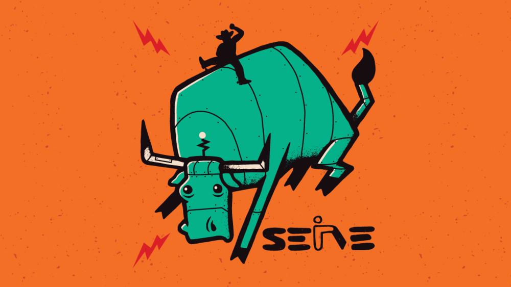 Serve Marketing: Poster & Sticker