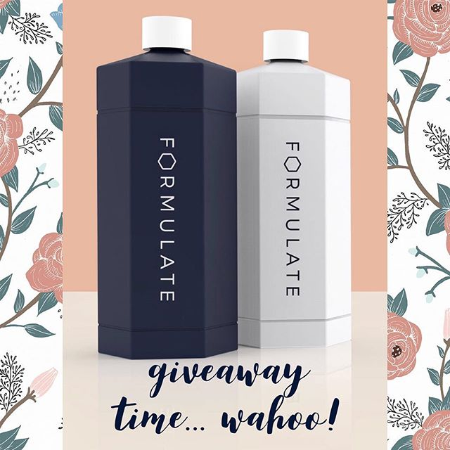🌿 Giveaway 🌿Customized shampoo + conditioner for all your crazy hair needs?! YES PLEASE!  Click the link in my bio for a chance to win your own specialized shampoo + conditioner from @formulate.co • • • #giveaway #giveawaycontest #beauty #love #hairstyles #hair #hairstyles #shampooandconditioner #products #mama #yoga #yogi