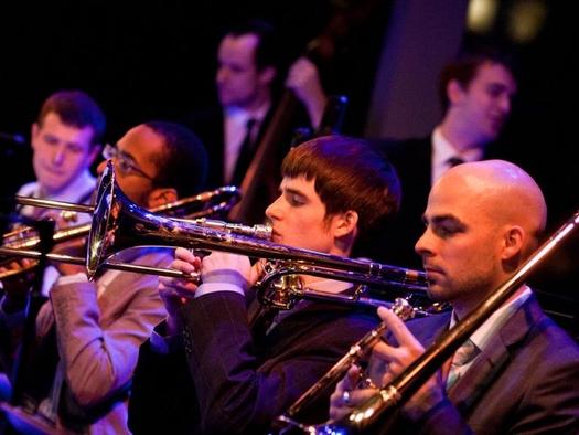 With Manhattan School of Music Jazz Orchestra