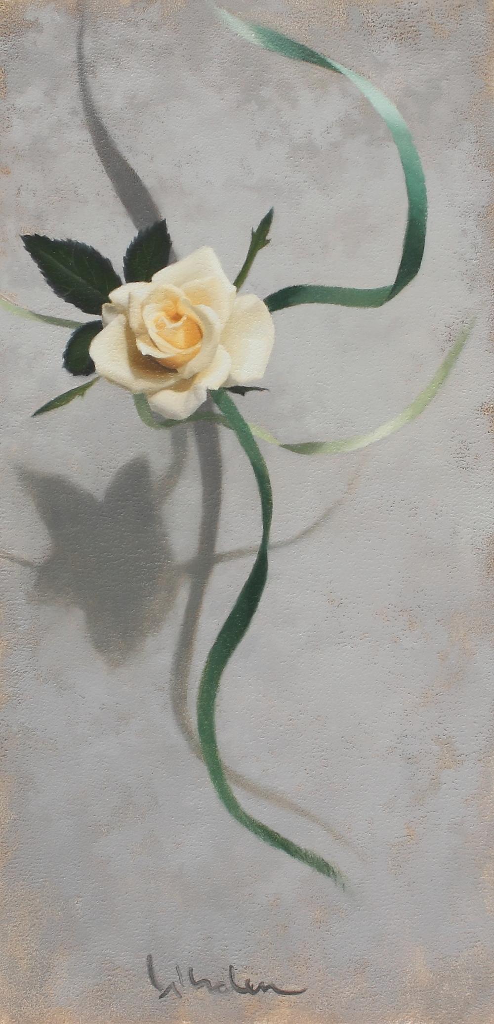 Pale Rose, 7x14