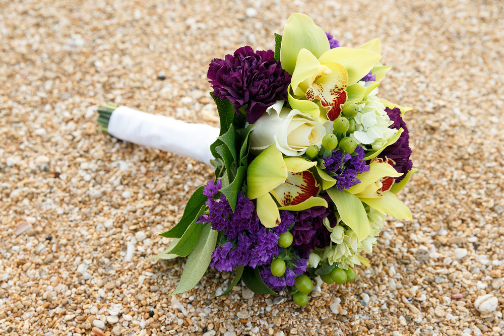 #5 Purple Accent Bouquet.