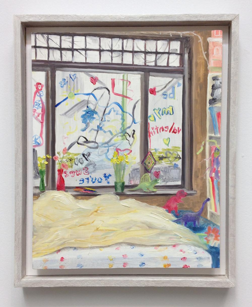 """Freddie's room 10""""x8"""" 2014"""