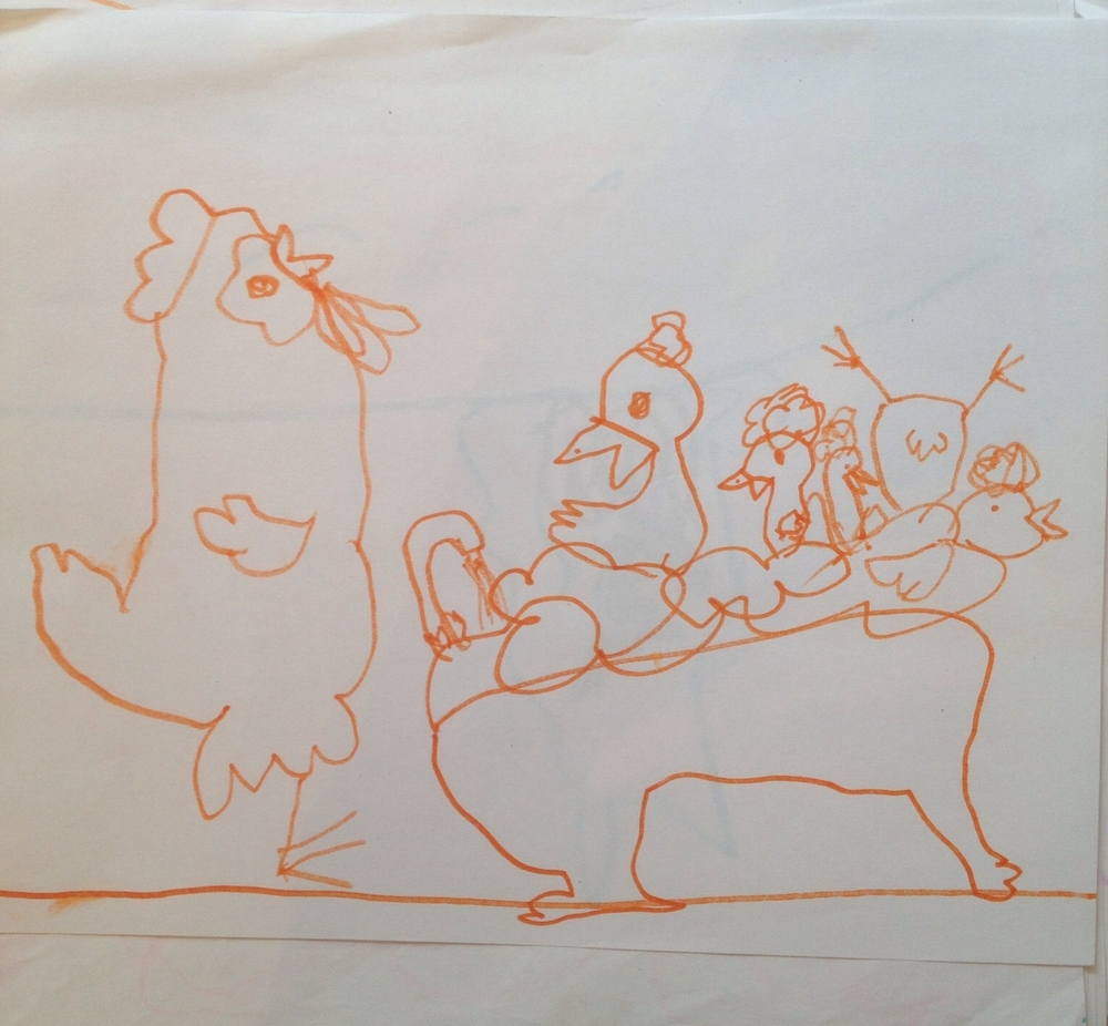 And, for good measure, a fabulous drawing by Freddie. (age 5)