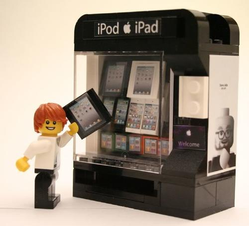 Lego Apple Vending Machine Instructions And Stickers Home