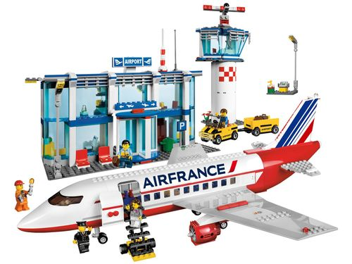 Air France Livery For Lego 3182 3181 60022 Home