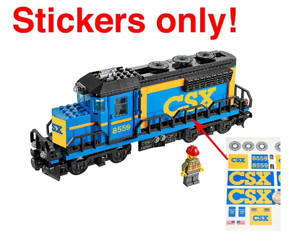 Lego Train Instructions And Stickers Home