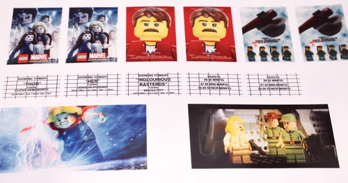 LEGO™ Palace Cinema Movie Poster Stickers — Home
