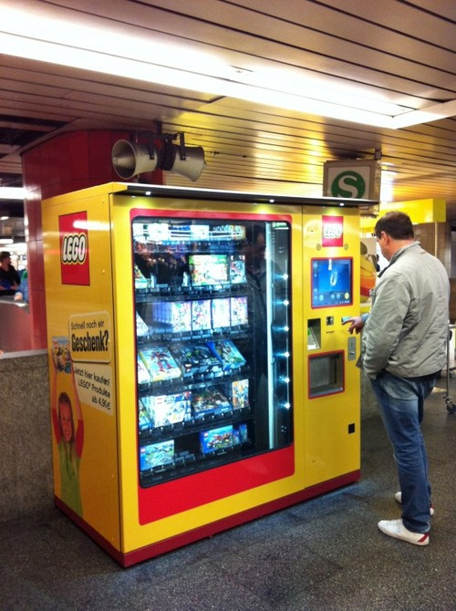 LEGO™ Vending Machine instructions and stickers — Home
