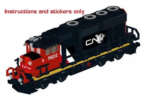 Lego Cn Sd 40 Instructions And Stickers North American Variant Home