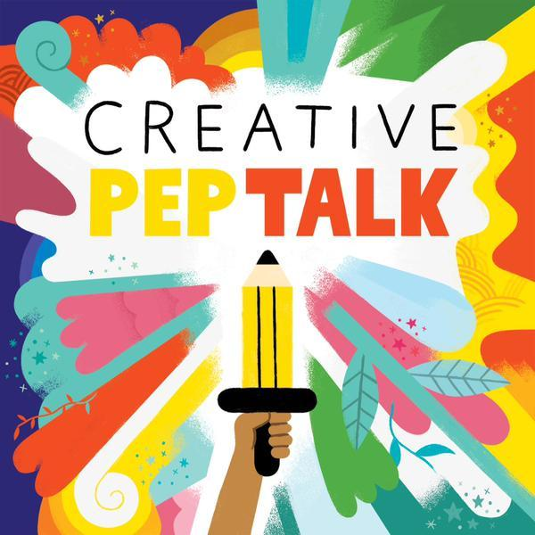 "I am flattered to be asked by Andy J Miller to be apart of his 50th episode of the Creative Pep Talk Podcast.    I was included in a group of 10 All Star creative people to give a brief word of advice that we wish we knew when we started out. I cracked up when Andy described me as an ""illustration master mind."" I appreciate all of the humbling comments about myself and my work. A big thank you to Andy for having me on his podcast and congratulations for hitting your 50th episode!!!   Listen to the podcast here (I start at minute 13:00 but you should listen to it all)   You can see  Andy J Millers work here (and it's the illustration he made in this post)"